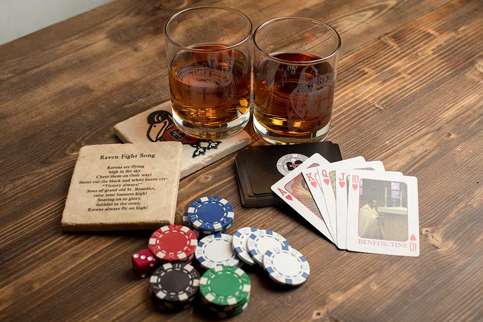 custom printed poker event products