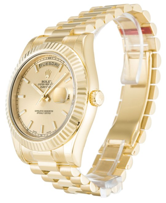 how to spot a fake Rolex Day-Date II 218238