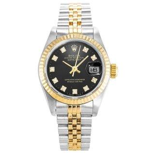 Rolex Datejust Black Diamonds 69173