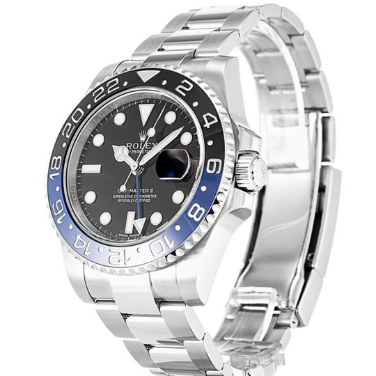 Replica Rolex Submariner GMT Master II Black 116710