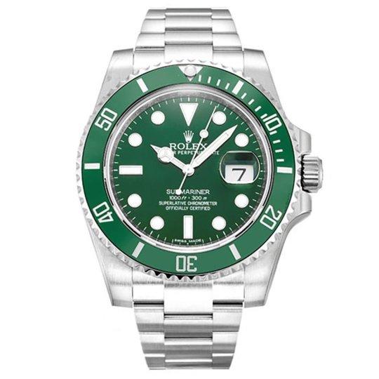 Best Replica Rolex Submariner Green Dial 116610LV