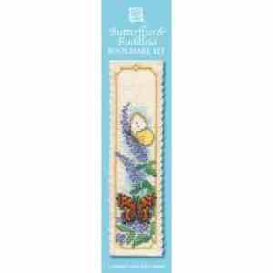 Butterflies & Buddleia bookmark kit