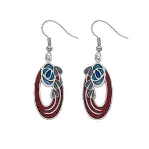 Red Sea Gems earring