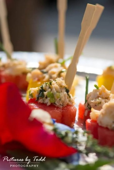 Thai Crab Salad on Watermelon