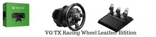 XboxOne Racing Wheel: Thrustmaster VG-TX Racing Wheel Leather Edition Complete