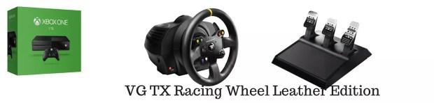 XboxOne Racing Wheel: Thrustmaster VG-TX Racing Wheel Leather Edition Complete