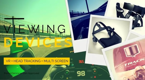 Oculus Rift and Gear VR for iRacing and rFactor
