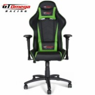 GT Omega PRO Racing Office Chair Black Next Green Leather (1)-700x700