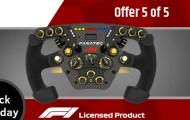 Fanatec Reveals New F1 Wheel on Black Friday 2018