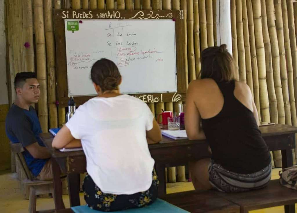Spanish Class in Costa Rica