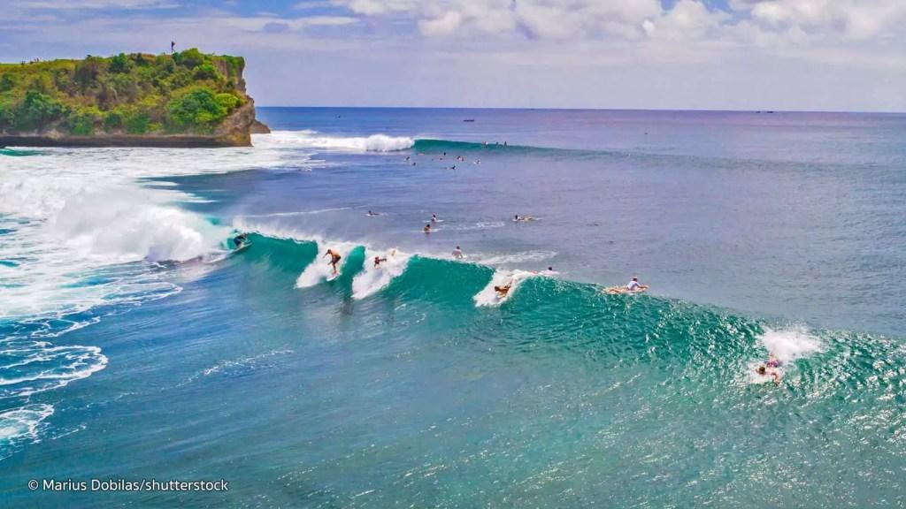 surf en indonesia