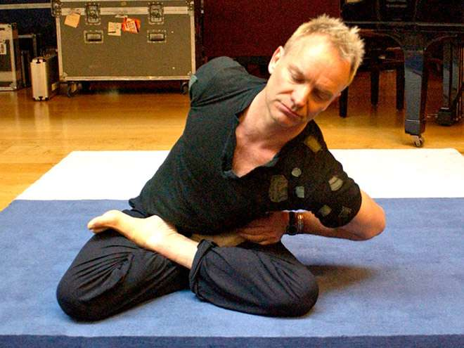 Sting yoga