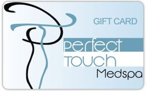 Perfect Touch Gift Cards available for purchase in store