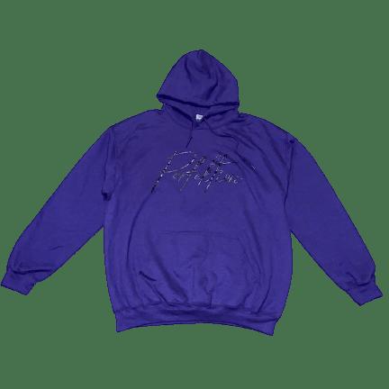 Purple/Black Lettering