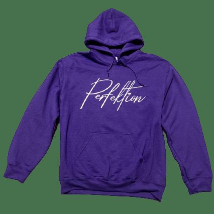 Purple/White Lettering