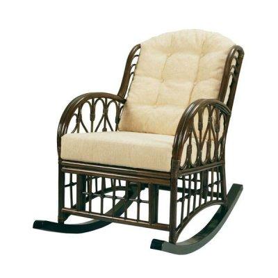 Кресло-качалка из ротанга Крым