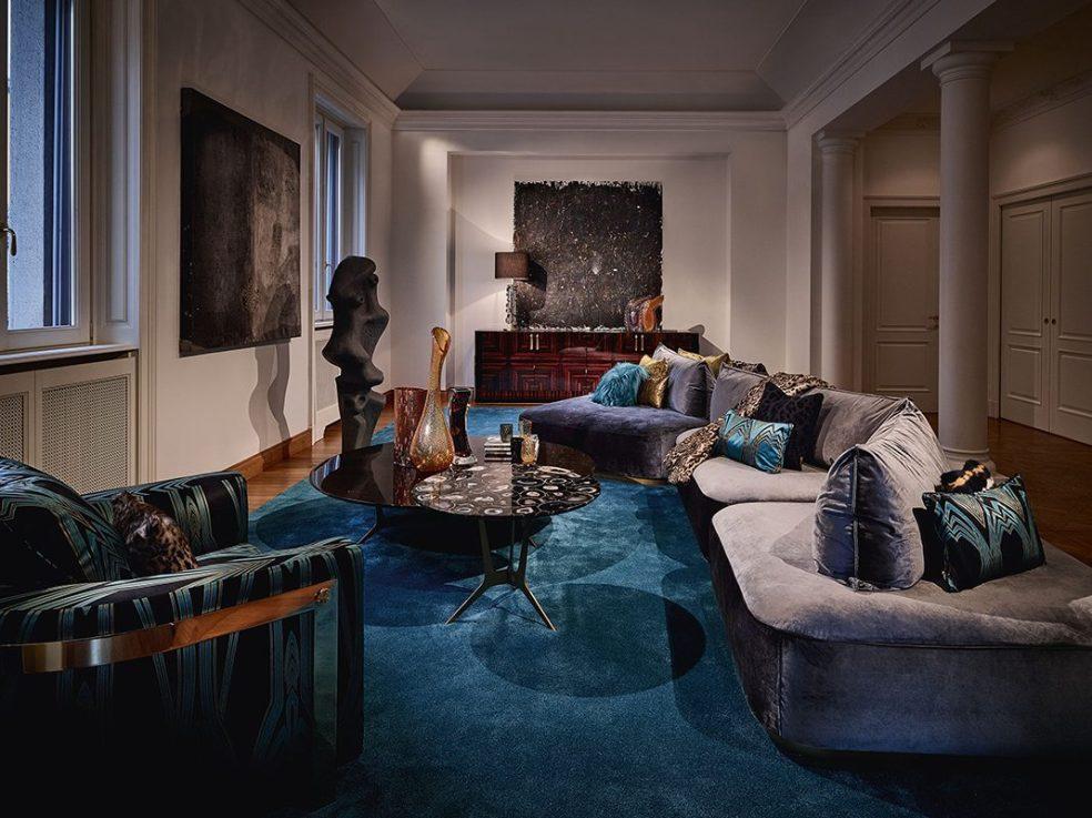 Design Diffusion Profiles a Roberto Cavalli Home Interiors Installation 2