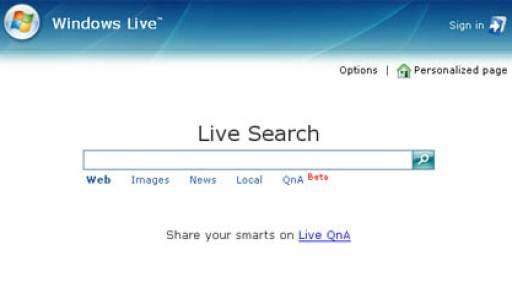 windows-live-search