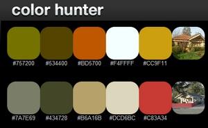 Color Hunter, encontrar paletas colores a partir de imagenes