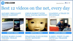 12vid, los videos más populares de la web