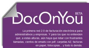 DocOnYou, red de facturación electrónica