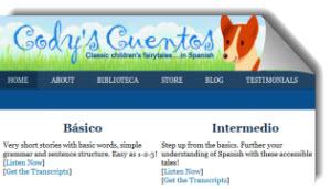 Codyscuentos, cuentos infantiles para aprender español