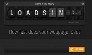 Loads.In, ver la velocidad de carga de tu sitio web