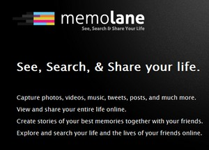 Memolane, organizar todos los servicios web