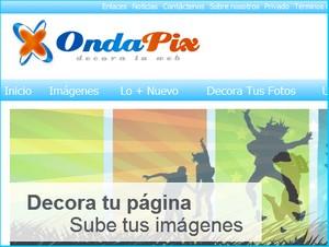 Ondapix, imágenes para los perfiles de las redes sociales