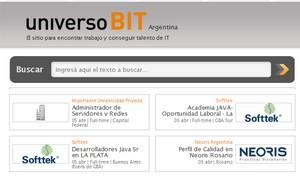 UniversoBit, nuevo portal para buscar empleo