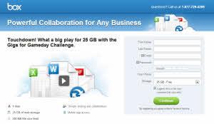 Box.com - consigue 25 GB de espacio online gratis