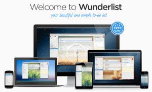 Wunderlist - organizador de tareas y marcador de favoritos