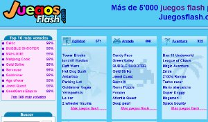 JuegosFlash - más de 5000 juegos flash gratis online