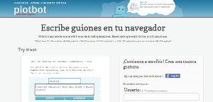 Plotbot - crea tu novela o redacción online
