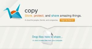 Copy - 5 GB de almacenamiento online gratis