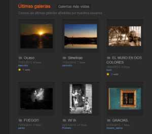 Red social para fotógrafos en Nomadas