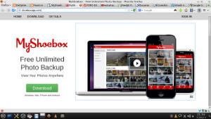 MyShoebox - espacio online ilimitado para tus fotos
