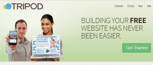 Tripod - crear un sitio web automáticamente