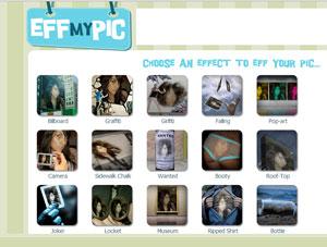 EffmYPic - crear fotomontajes divertidos online