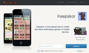 Keepskor - crea, diseña y comparte tus propios videojuegos