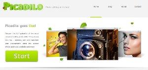 Picadilo - editor de imágenes para aplicar efectos y adornar fotos