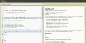 Un editor de textos Markdown online gratuito en Dillinger