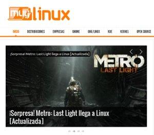 MuyLinux - un sitio para leer todo lo que sucede en Linux