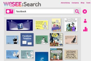 Buscar imágenes con imágenes usando WeSEE