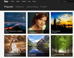 500px - una red social para fotógrafos