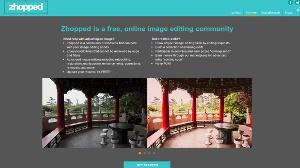 Zhopped - red social para editar fotos de forma colaborativa