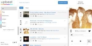 Upbeat - escuchar música online gratis y votar por ella