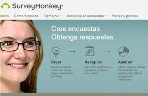 SurveyMonkey - crear encuestas personalizadas desde la web