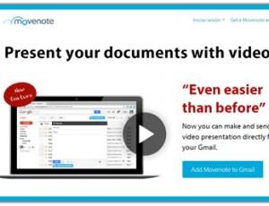 Movenote, crear video presentaciones con documentos