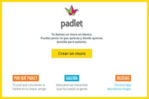 Padlet - muro virtual para todos nuestros proyectos